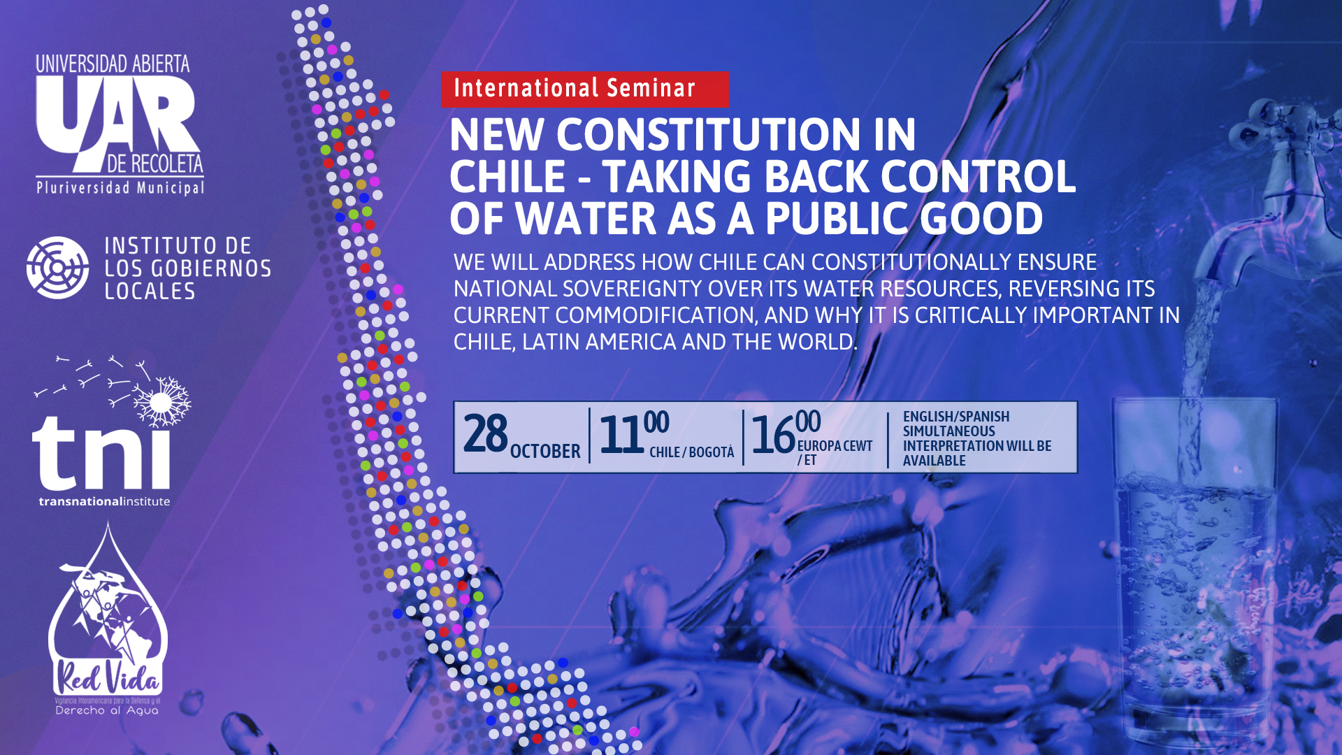 The New Constitution in Chile - Taking back control of water as a public good - Transnational Institute