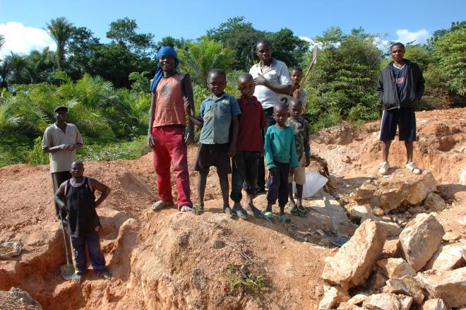 Child Mining in Congo