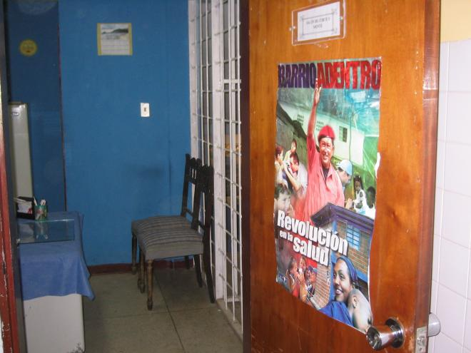 Barrio adentro health clinic