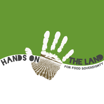 hands on the land logo