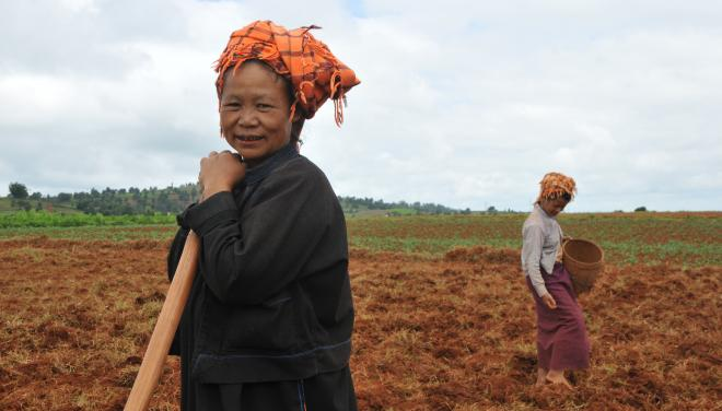 Pa-O farmers in Shan State Slider