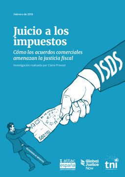 Cover Taxes on Trial Spanish