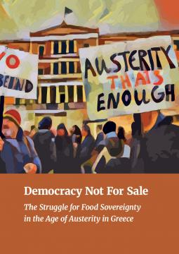 'Democracy not for sale' cover