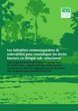 Report Cover: Mali Country Report