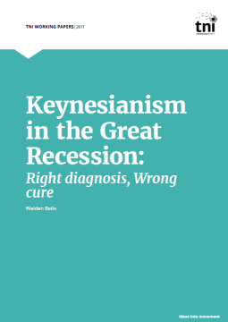 Keynesianism in the Great Recession - Cover page