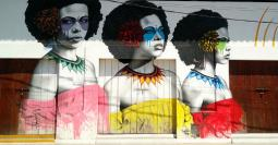 A mural in FinDac en Cartagena