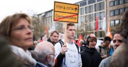 Protest Hannover 23 April 2016